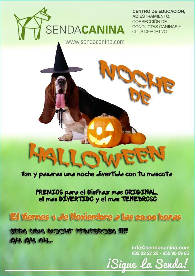 Noche de Halloween en Senda Canina - Adietramiento Canino Granada